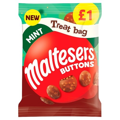 Picture of PM £1 MALTESERS MINT BUTTONS TREAT BAG 68G X 20