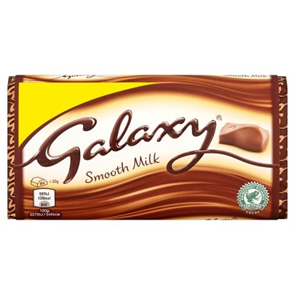 Picture of PM £1 GALAXY MILK LARGE 110G X 24
