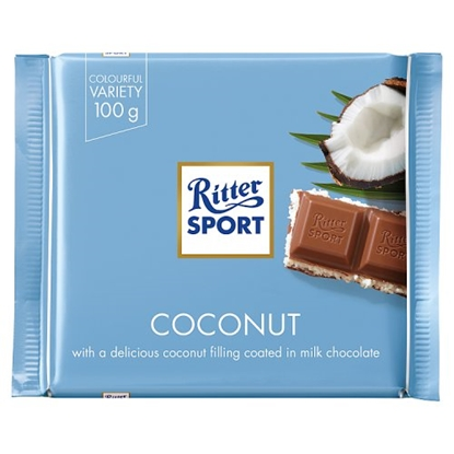 Picture of RITTER COCONUT 100G X 12