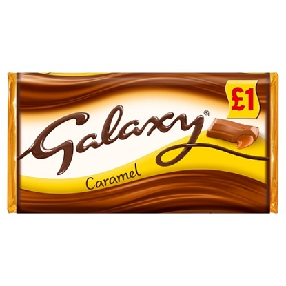 Picture of PM £1 GALAXY CARAMEL 135G X 24
