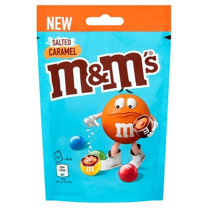 Picture of M&M'S SALTED CARAMEL POUCH 109G X 12