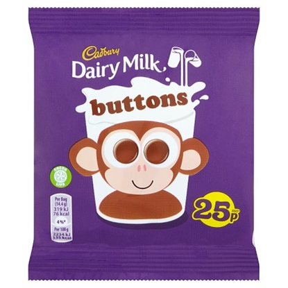 Picture of PM 25P CADBURYS BUTTONS X 60