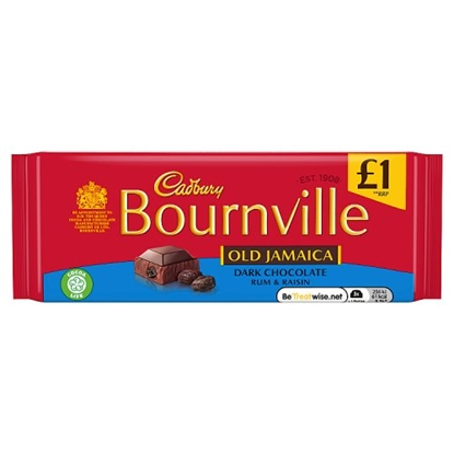 Picture of PM £1 BOURNVILLE OLD JAMAICA 100G X 18