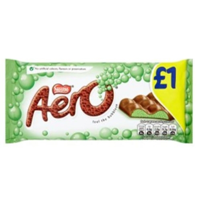 Picture of PM £1 AERO PEPPERMINT GIANT 90G x15