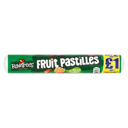 Picture of PM 2 FOR £1 FRUIT PASTILLES X 32