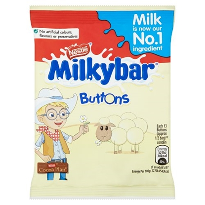 Picture of MILKY BAR BUTTONS  X 48