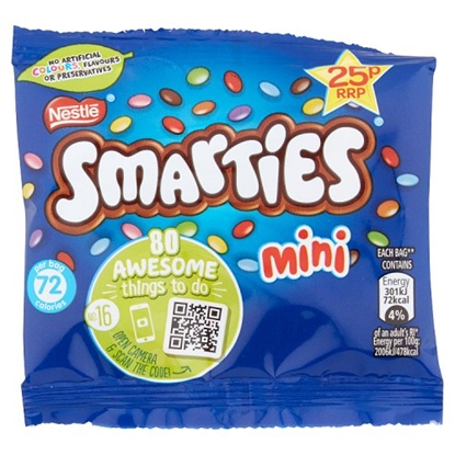 Picture of PM 25P SMARTIES MINI BAG 15G X 60