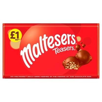 Picture of PM £1 MALTESER TEASER BAR  100G x 23