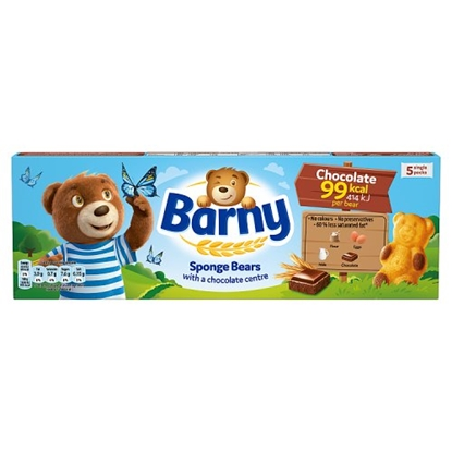 Picture of BARNY CHOCOLATE 125G 5PK X 7