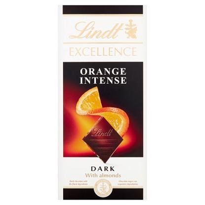 Picture of LINDT EXCELLENCE DARK *ORANGE* 100G x20