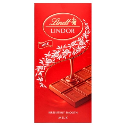 Picture of LINDOR MILK BAR 100G X 18