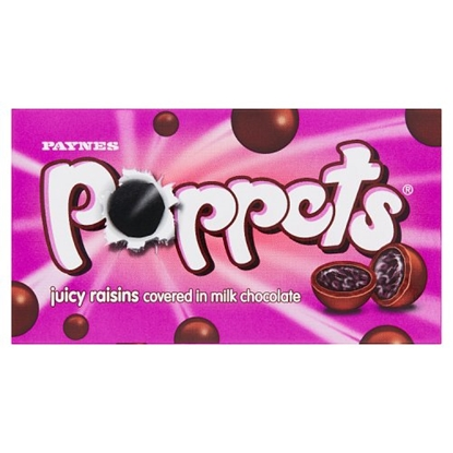Picture of POPPETS RAISIN CARTONS X 36