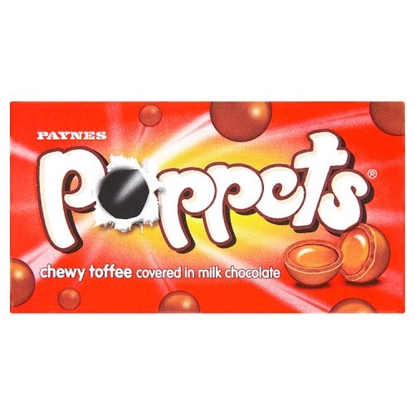 Picture of POPPETS TOFFEE CARTONS X 36