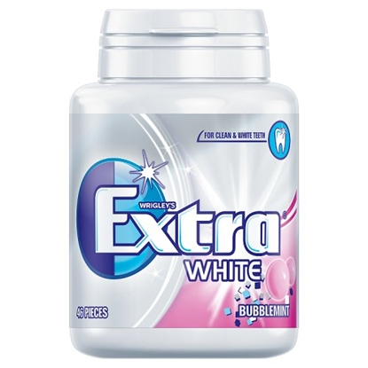 Picture of WRIGLEYS EXTRA WHITE BUBBLEMINT BOTTLE X 6