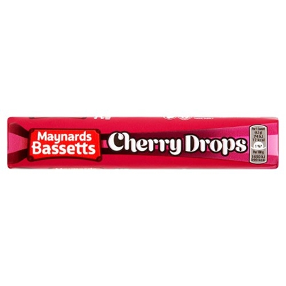 Picture of MAYNARDS  CHERRY DROP ROLLS X 40