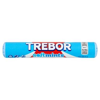 Picture of TREBOR SOFTMINTS SPEARMINT BLUE X 40