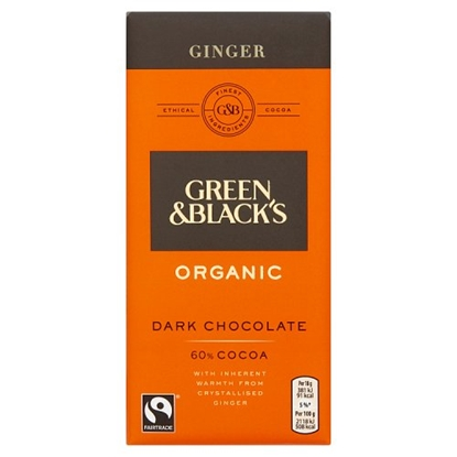 Picture of GREEN & BLACKS GINGER 100G X 15