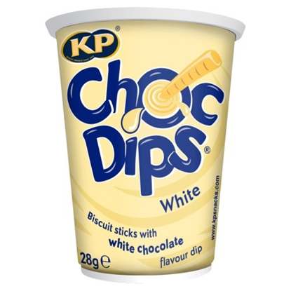 Picture of KP CHOC DIPS **WHITE**  X 12