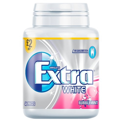 Picture of PM £2 WRIGLEYS EXTRA BUBBLEMINT BOTTLES X 6