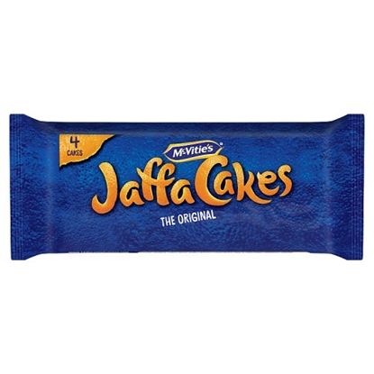 Picture of MCVITIES JAFFA CAKES SNACK PACK 4s X 20