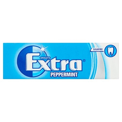 Picture of WRIGLEYS EXTRA PEPPERMINT BLUE X 30