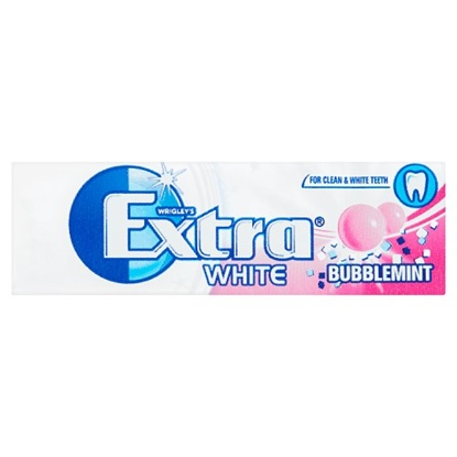 Picture of WRIGLEYS EXTRA WHITE BUBBLEMINT X 30