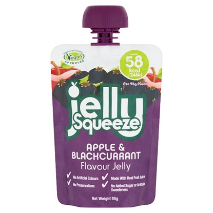 Picture of JELLY SQUEEZE APPLE & BLACK 95G x 16