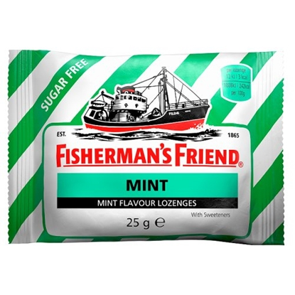 Picture of FISHERMANS FRIEND MINT SUGAR FREE x24