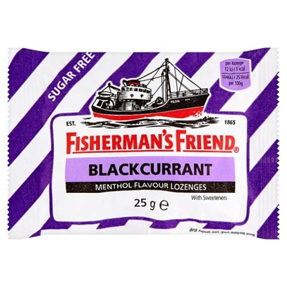 Picture of FISHERMANS FRIEND BLACKCURRANT X 24