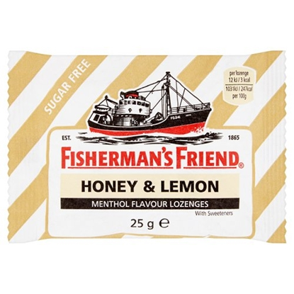 Picture of FISHERMANS FRIEND LEMON SUGAR FREE x 24