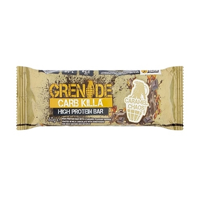Picture of GRENADE BARS CARAMEL CHAOS 60G X 12