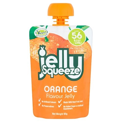 Picture of JELLY SQUEEZE ORANGE 95G X 16