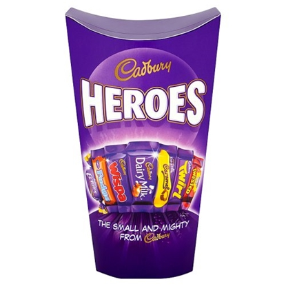 Picture of CADBURY HEROES *290G* LGE X 6