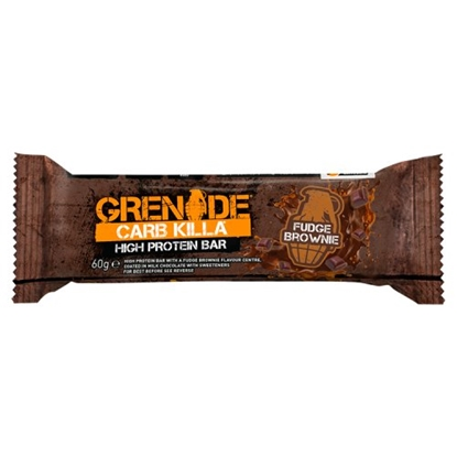Picture of GRENADE BARS FUDGE BROWNIE 60G X 12