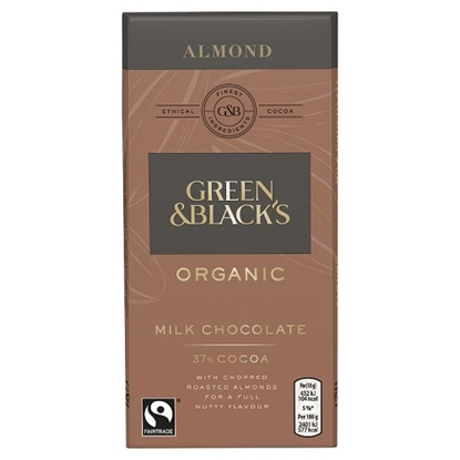 Picture of GREEN & BLACKS ALMOND MILK BAR 90G X 15