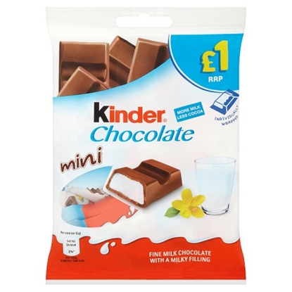 Picture of PM £1 KINDER MINI CHOCOLATE BAG 69G x 10