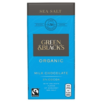 Picture of GREEN & BLACKS SEA SALT MILK 100G X 15