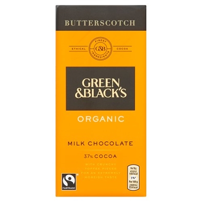 Picture of GREEN & BLACKS BUTTERSCOTCH 100Gx15