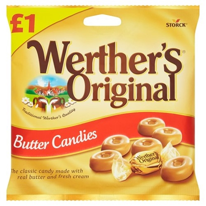 Picture of PM £1 WERTHERS BUTTER CANDY  X 15