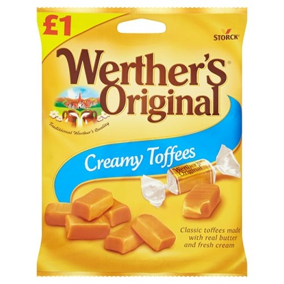 Picture of PM £1 WERTHERS CREAMY *TOFFEE* x 15