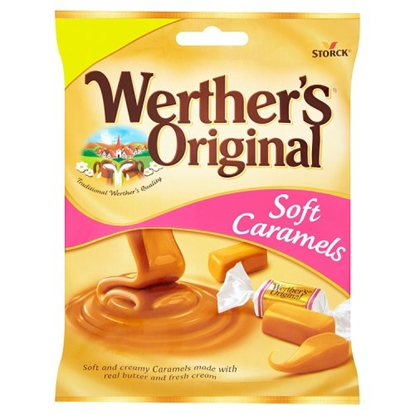 Picture of PM £1 WERTHERS SOFT CARAMEL 110G x 15
