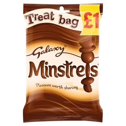 Picture of PM £1 GALAXY MINSTRELS TREAT BAG  80G X 20