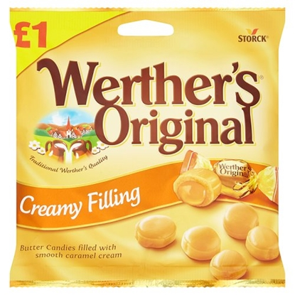 Picture of PM £1 WERTHERS CREAMY *FILLED* x 15