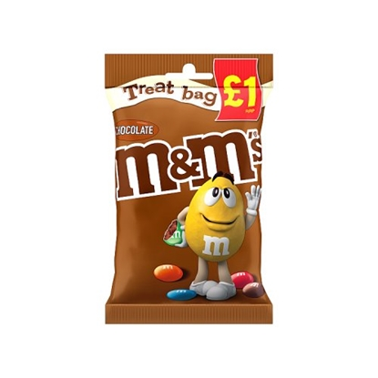 Picture of PM £1 M&M'S CHOCOLATE TREAT BAG 82G X 16