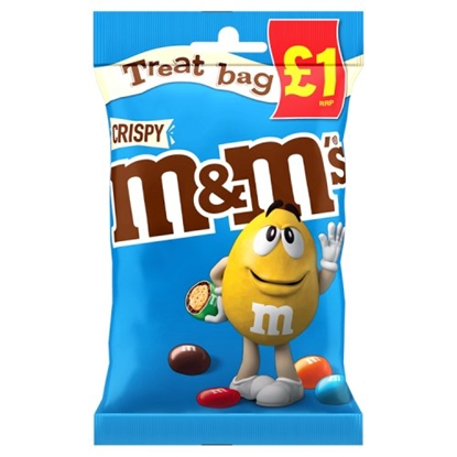 Picture of PM £1 M&M'S CRISPY TREAT BAG 77G x 16