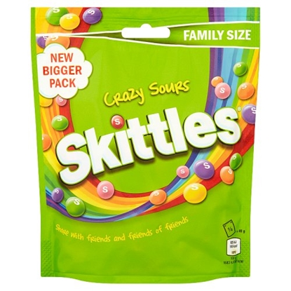 Picture of SKITTLES SOUR POUCH 196Gx14