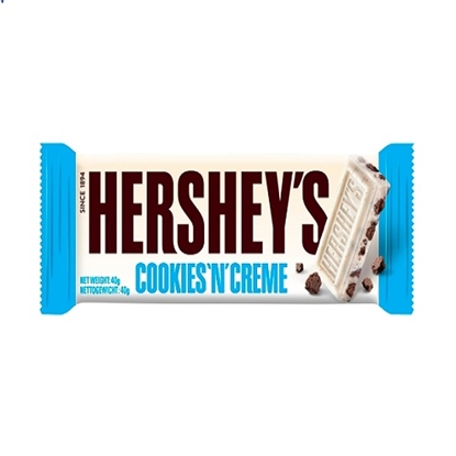 Picture of HERSHEYS COOKIES & CREME BAR 40G x 24