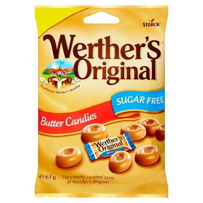Picture of PM £1 WERTHERS SUGAR FREE CANDIES 65G X 12