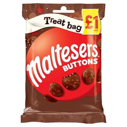 Picture of PM £1 MALTESERS BUTTONS TREAT BAG 68G X 20