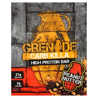 Picture of GRENADE BARS PEANUT NUTTER 60G X 12